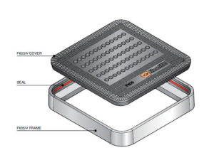 F605V 300x225 - Tapa de arqueta de 600 mm con ventilación modelo F605V