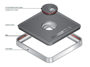 FL76 CD 300x225 - Tapa de arqueta de 760 mm con tapadera central mod. FL76-CD