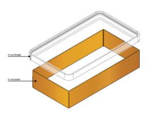 FL140 SK300 300x225 - Faldón de encofrado de 300 mm para tapa FL140. mod. FL140-SK300