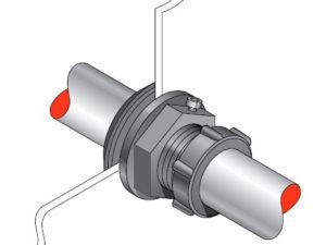 PSB 33 300x225 - Pasamuro simple para tubería de 33 mm exterior. mod. PSB 33