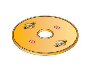 S LID ROUND 20 300x225 - Tapadera con agujero central para cuello de arqueta de 900 mm. mod. S-LID-ROUND-20