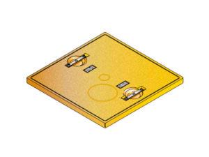 S LID SQUARE SOLID 300x225 - Tapadera pisable para cuello de arqueta cuadrado de 760 mm. mod. S-LID-SQUARE-SOLID