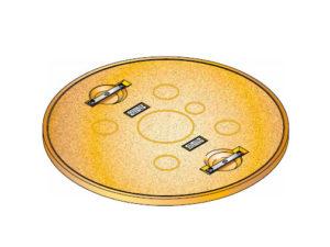 S S LID ROUND SOLID 300x225 - Tapadera pisable para cuello de arqueta de 900 mm. mod. S-S-LID-ROUND-SOLID