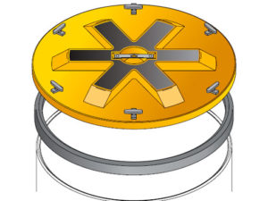 S S LID ROUND WT 300x225 - Tapadera con cierre estanco para cuello de arqueta de 900 mm. mod. S-S-LID-ROUND-WT
