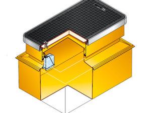 s9 3140 300x225 - Arqueta rectangular de 1470 x 990 mm y altura ajustable de 600 mm. mod. S9-3140