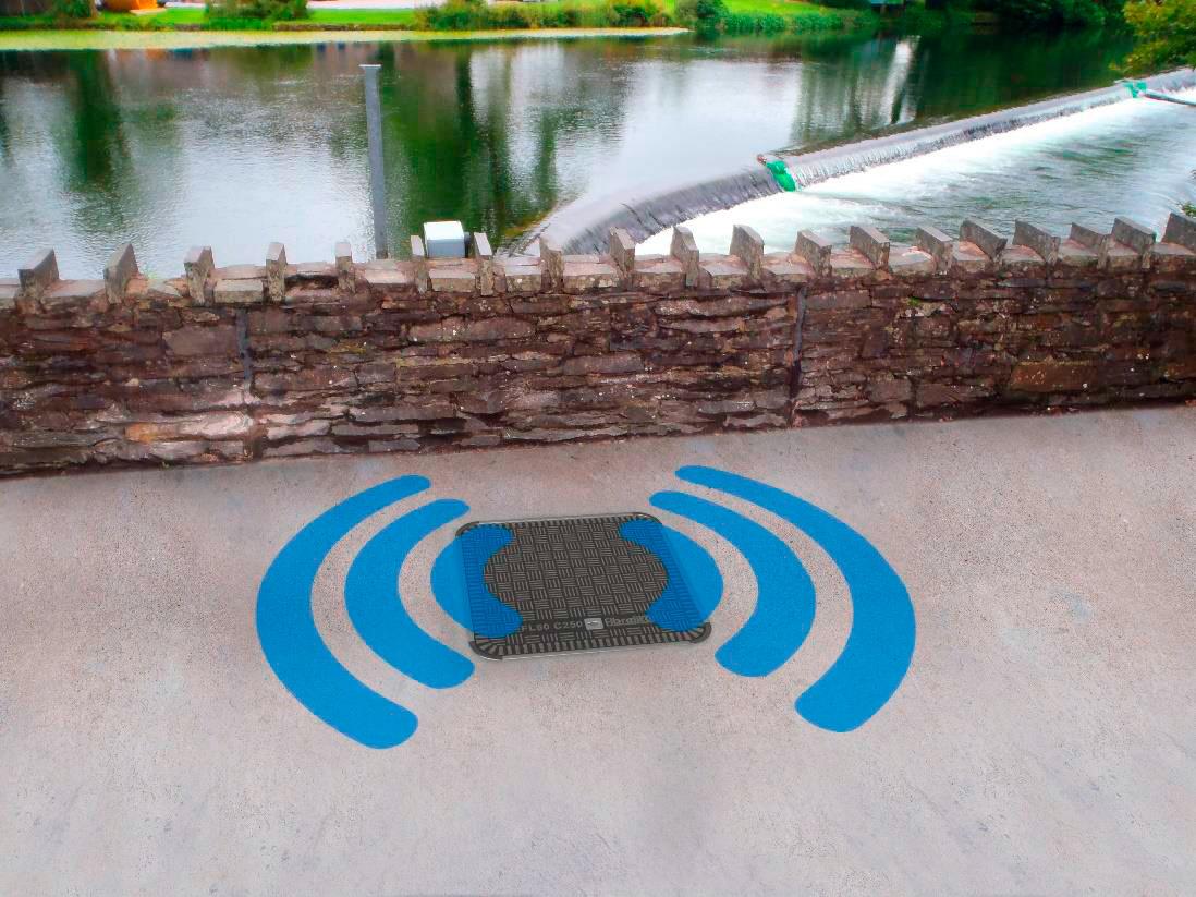 Nueva tapa de arqueta para señales de radio frecuencia